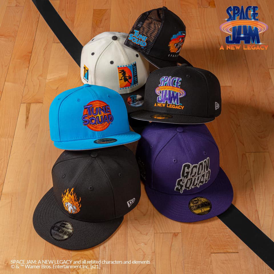 new-era-space-jam-a-new-legacy-hats