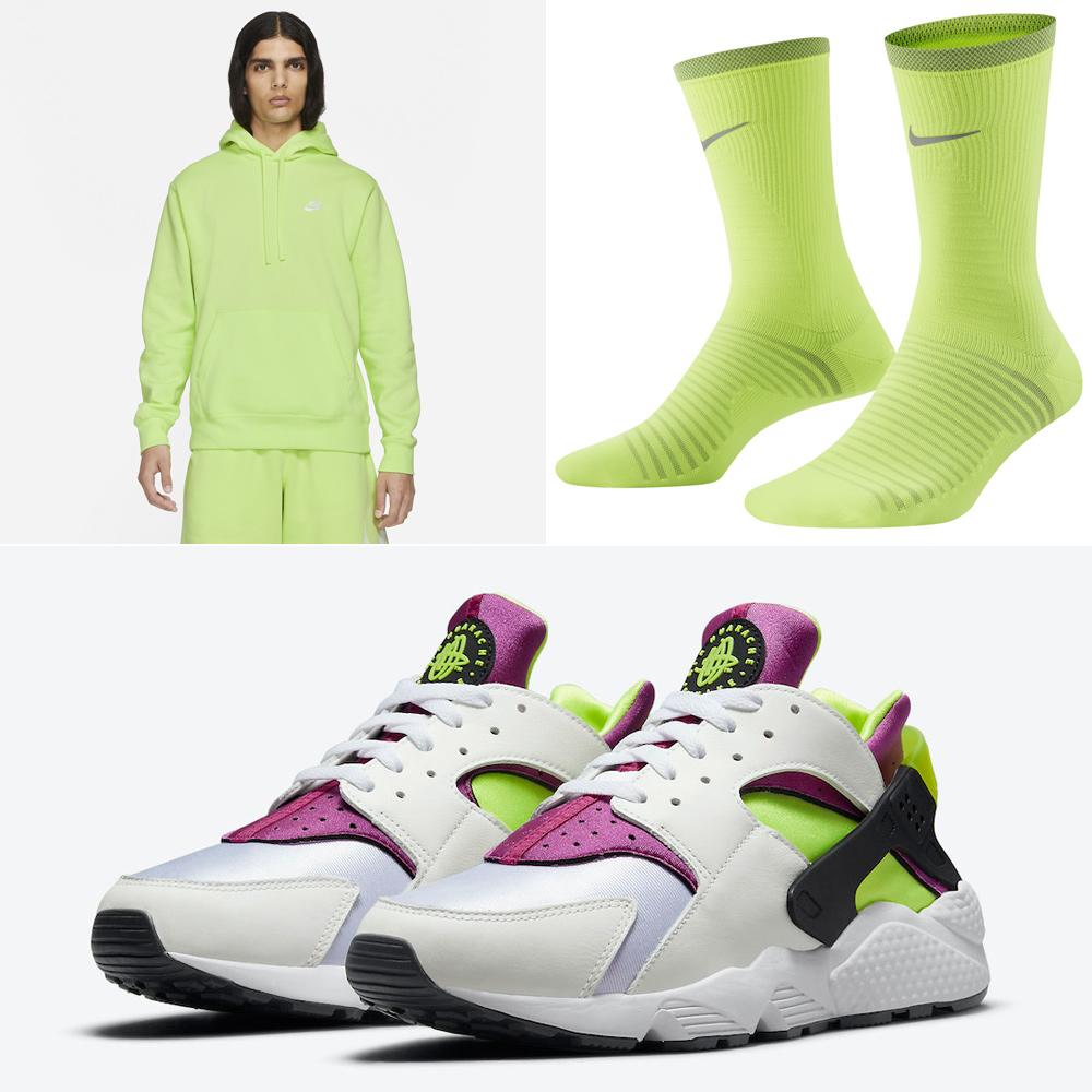 nike-air-huarache-magenta-neon-yellow-apparel-match