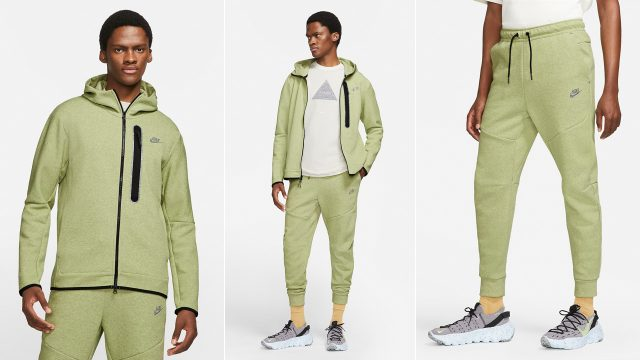 nike-tech-fleece-recycled-hoodie-and-joggers-lime-ice-heather