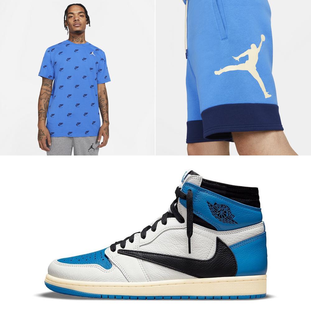 travis-scott-fragment-jordan-1-shirt-shorts-outfit-match