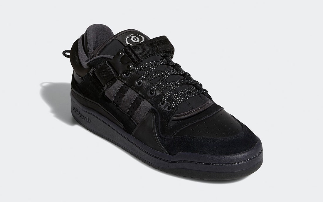 Bad-Bunny-adidas-Forum-Buckle-Low-Black-GW5021-Release-Date-1