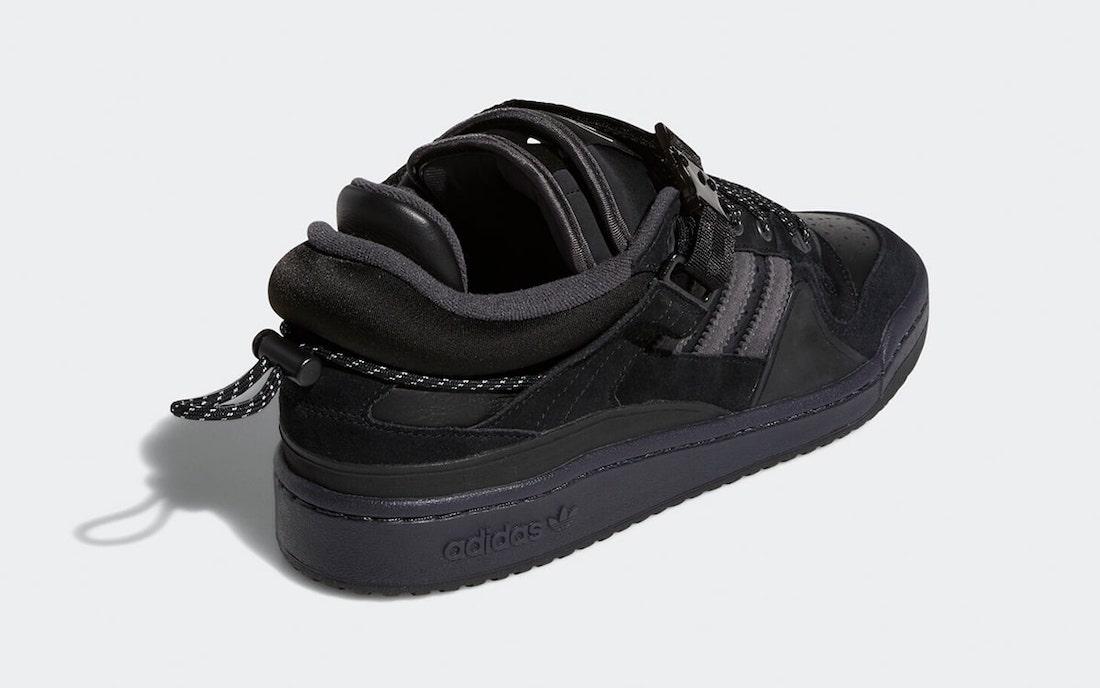 Bad-Bunny-adidas-Forum-Buckle-Low-Black-GW5021-Release-Date-2
