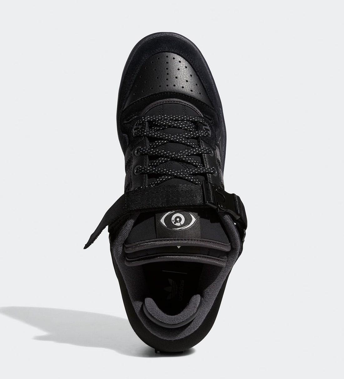 Bad-Bunny-adidas-Forum-Buckle-Low-Black-GW5021-Release-Date-3