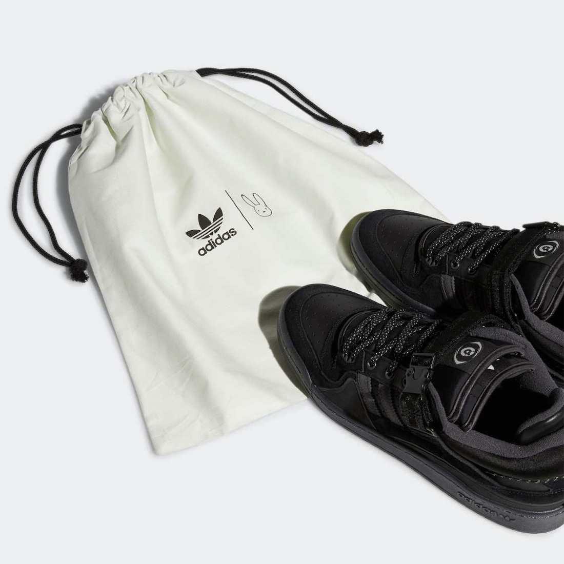 Bad-Bunny-adidas-Forum-Buckle-Low-Core-Black-GW5021-Release-Date-1