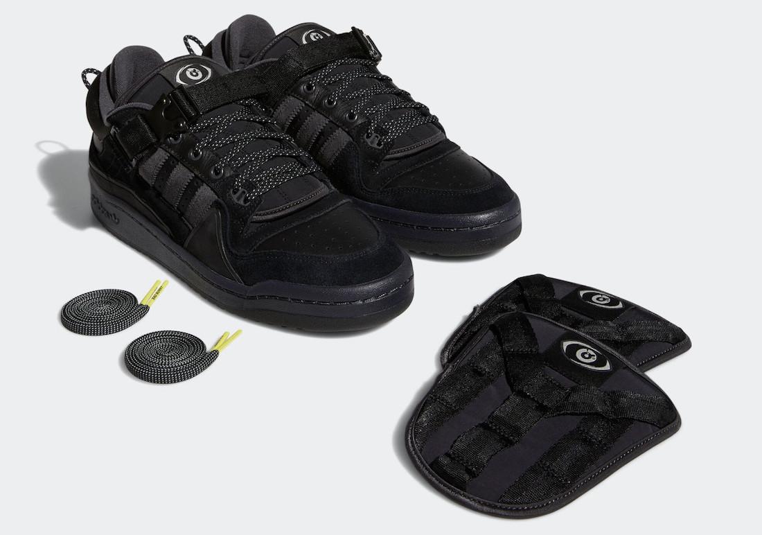 Bad-Bunny-adidas-Forum-Buckle-Low-Core-Black-GW5021-Release-Date