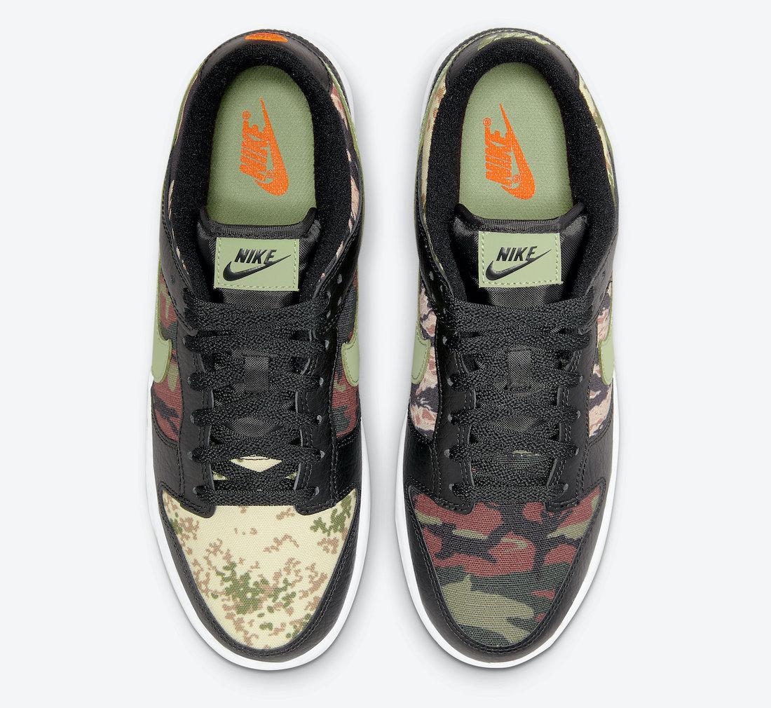 Nike-Dunk-Low-Black-Multi-Camo-DH0957-001-Release-Date-3