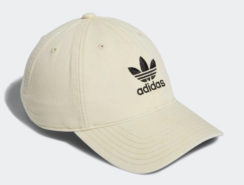 adidas originals beige strapback hat