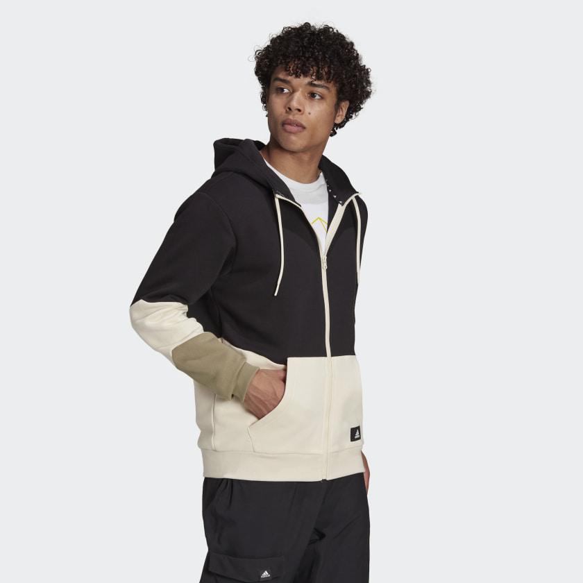 adidas_Sportswear_Colorblock_Hoodie_Black_GR4095_21_model