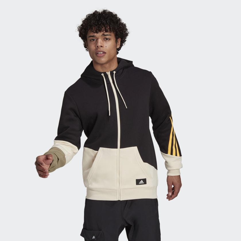 adidas_Sportswear_Colorblock_Hoodie_Black_GR4095_25_model