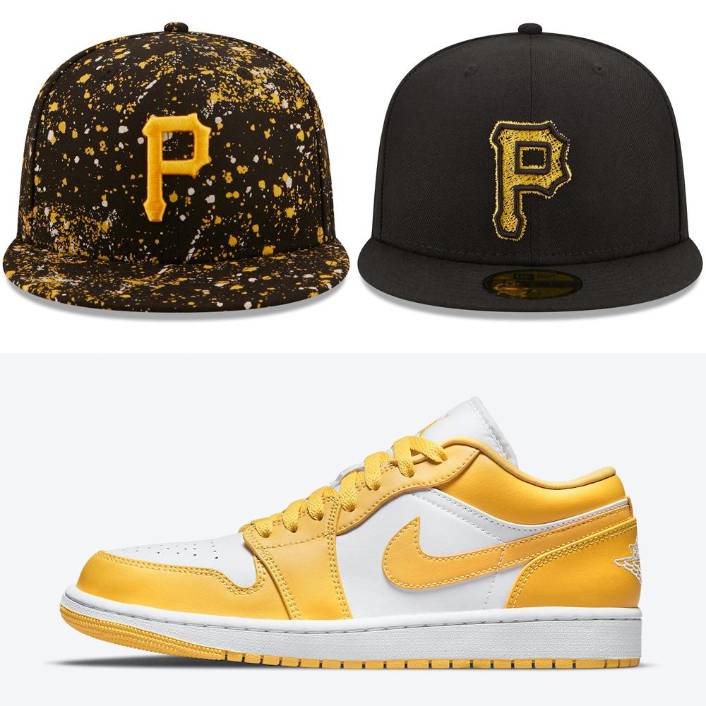 air-jordan-1-low-pollen-hats-to-match