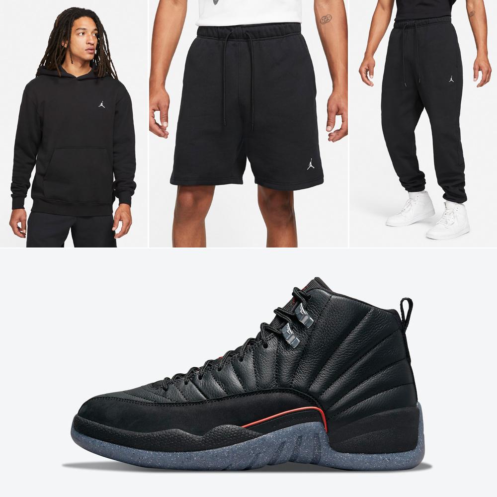 air-jordan-12-utility-black-clothing