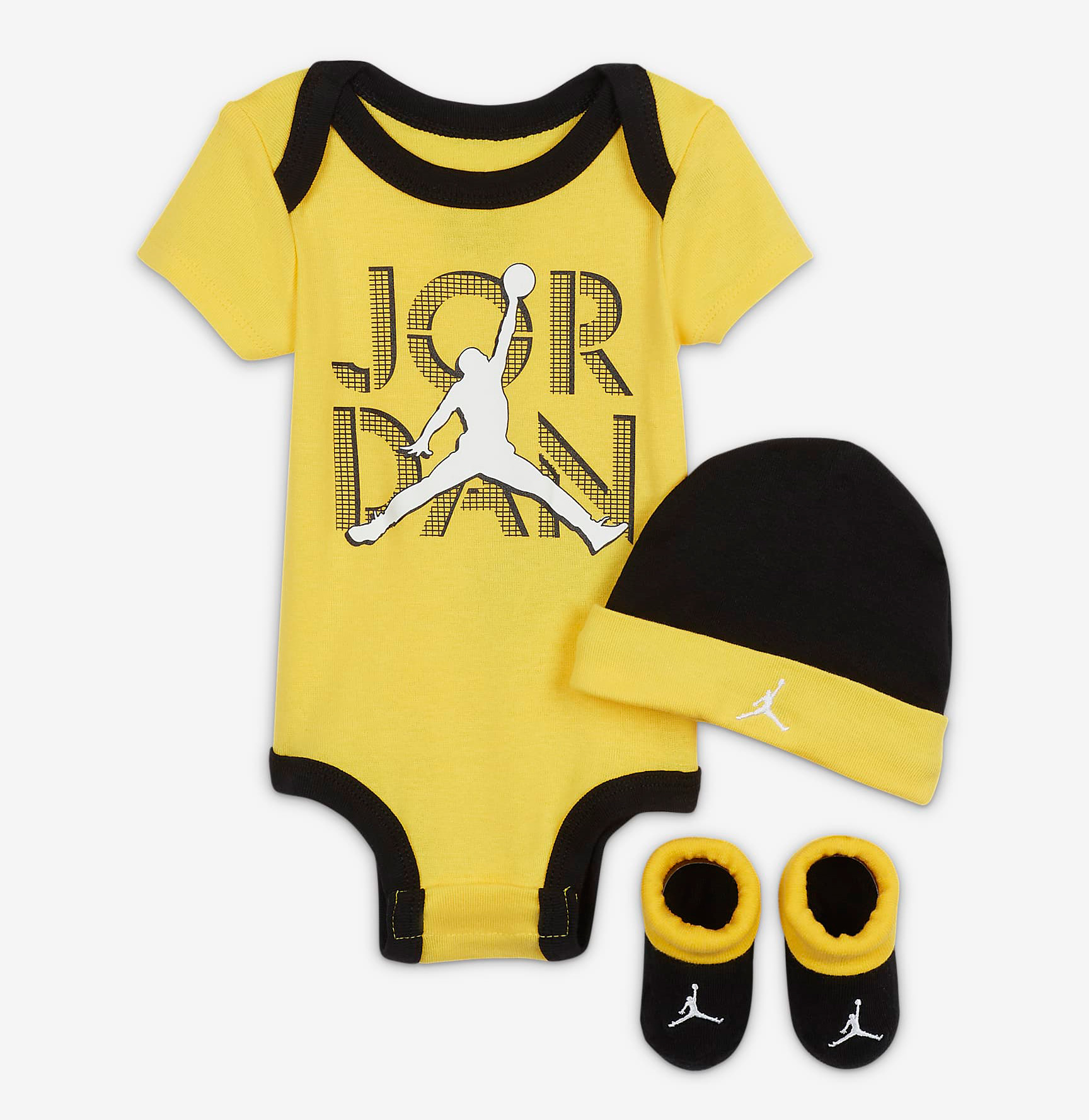 air-jordan-4-lightning-kids-baby-shirt-hat-clothing-set