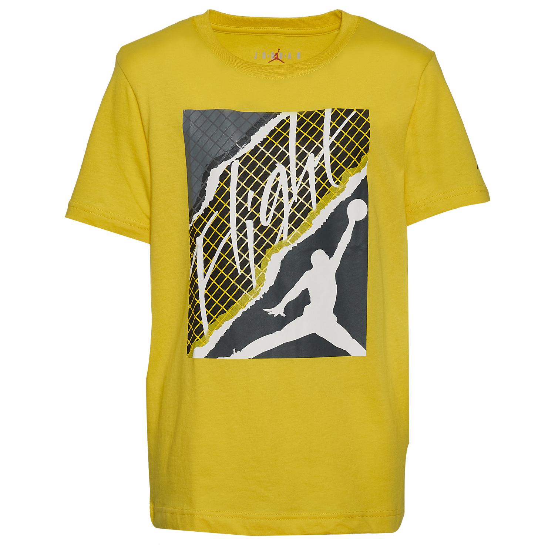 air-jordan-4-lightning-kids-boys-grade-school-t-shirt-1