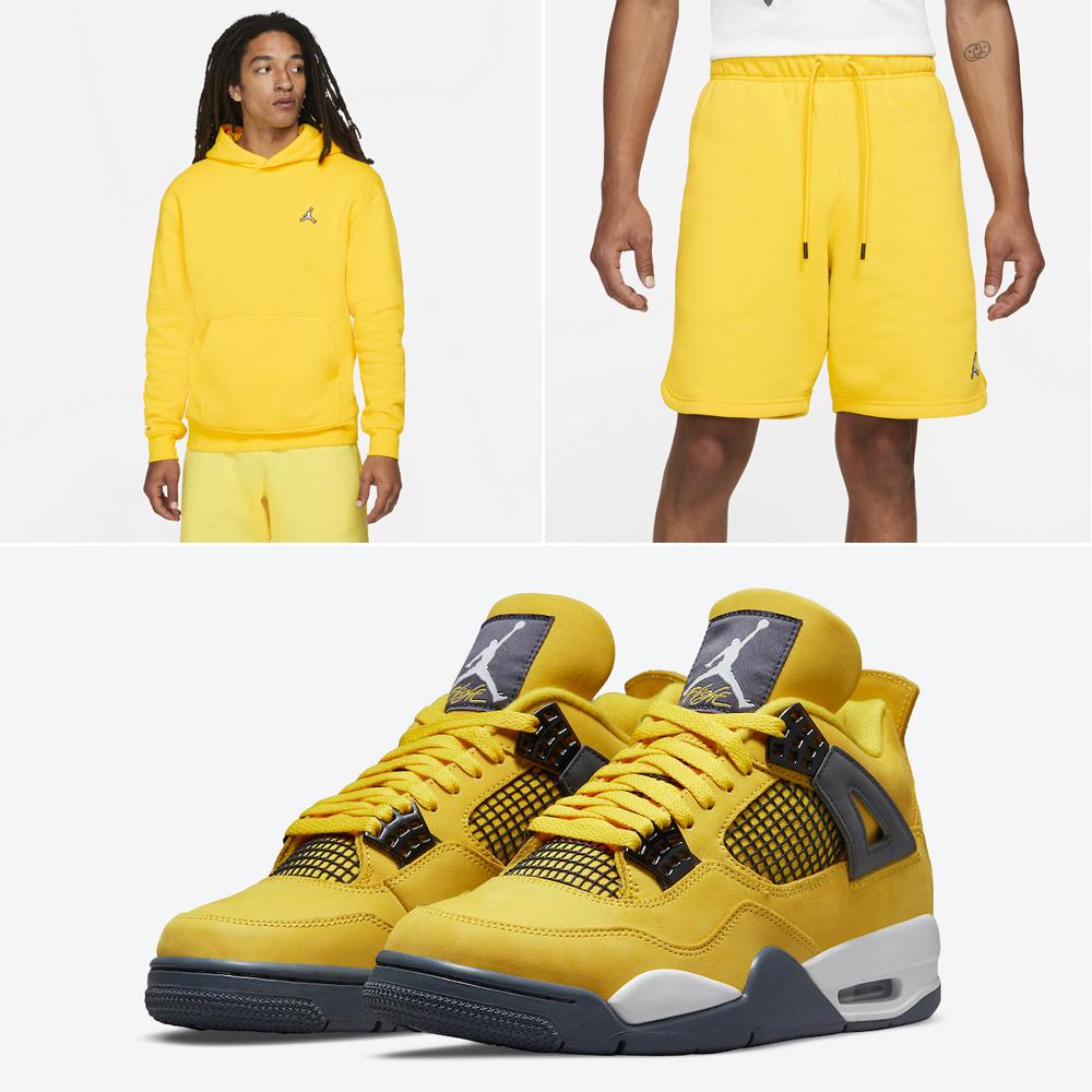 air-jordan-4-lightning-matching-apparel