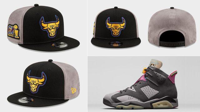 air-jordan-6-bordeaux-snapback-hat