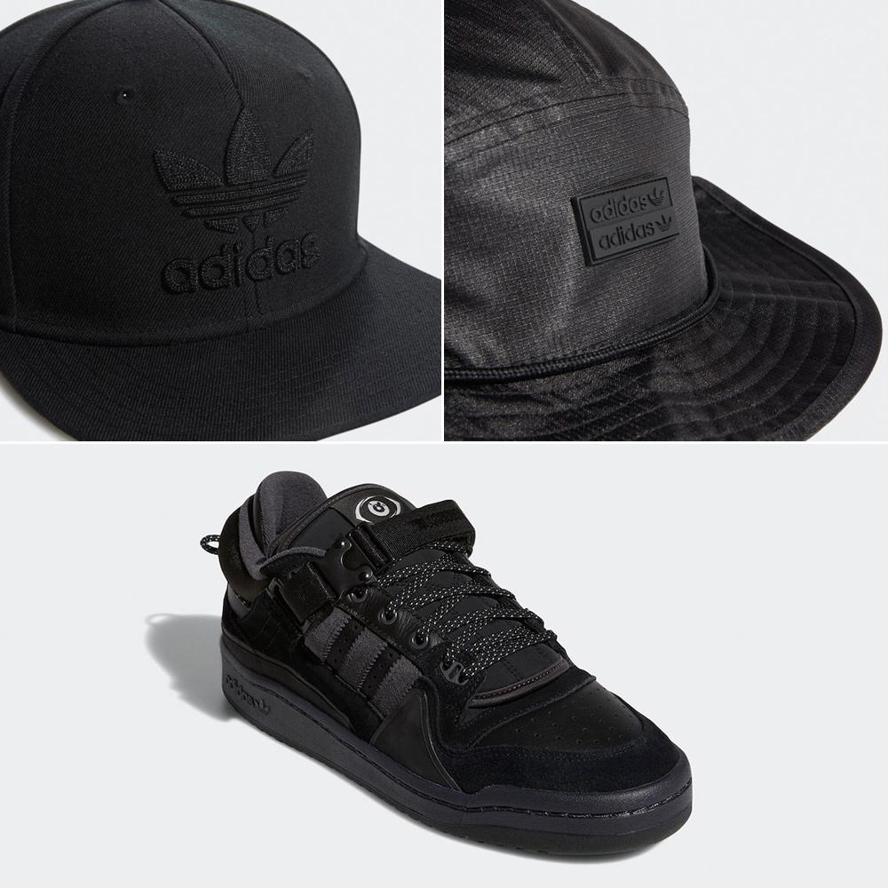 bad-bunny-adidas-buckle-low-black-back-to-school-hats