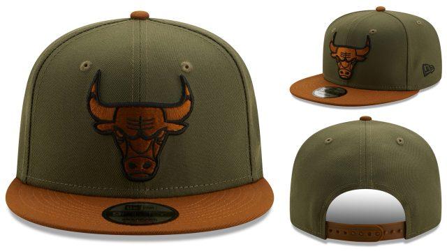 chicago-bulls-new-era-olive-brown-snapback-cap
