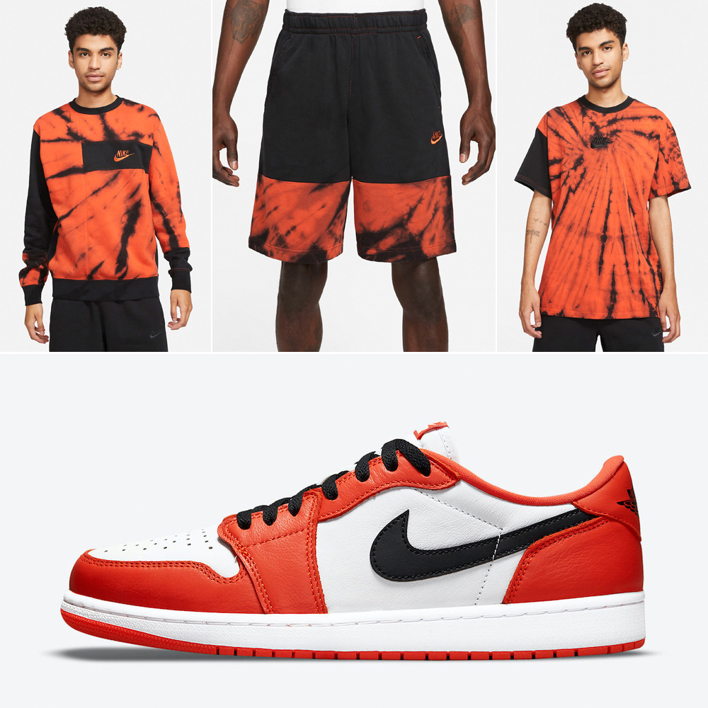 jordan-1-low-starfish-orange-shattered-backboard-apparel-match