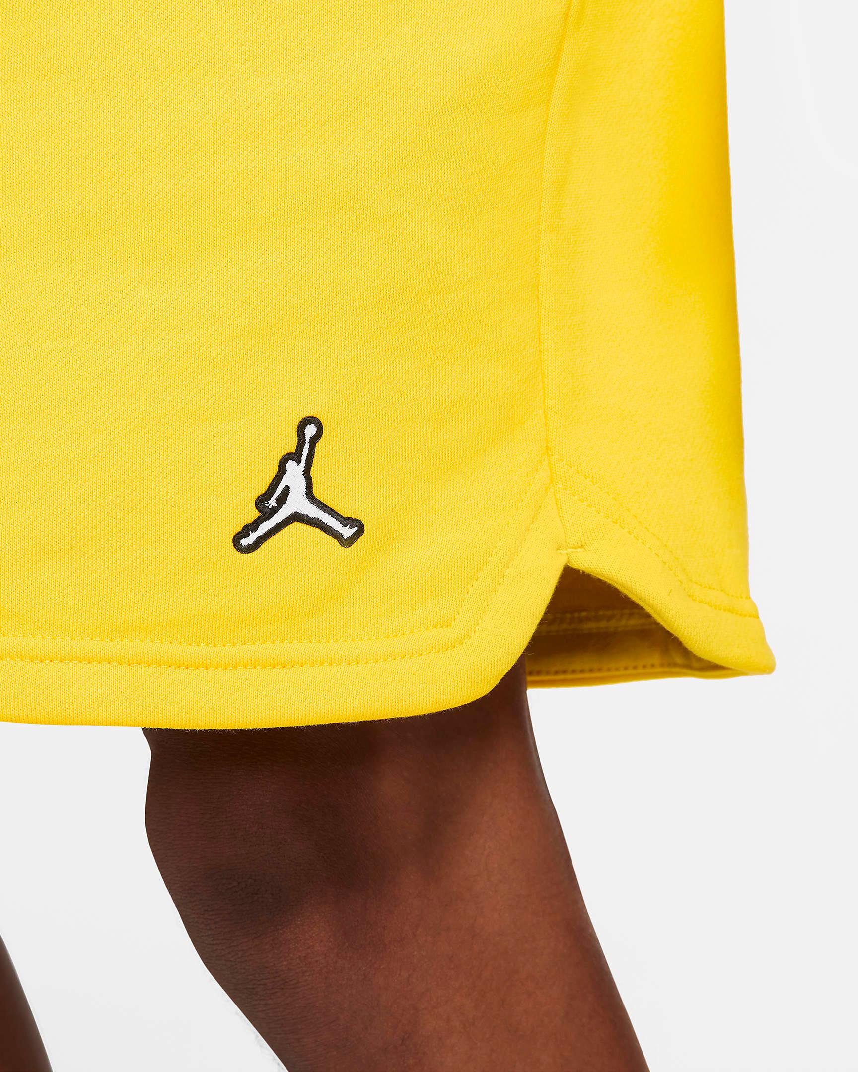 jordan-4-lightning-2021-tour-yellow-shorts-3