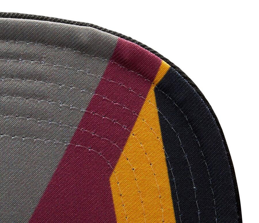 jordan-6-bordeaux-bulls-snapback-hat-mitchell-and-ness-3