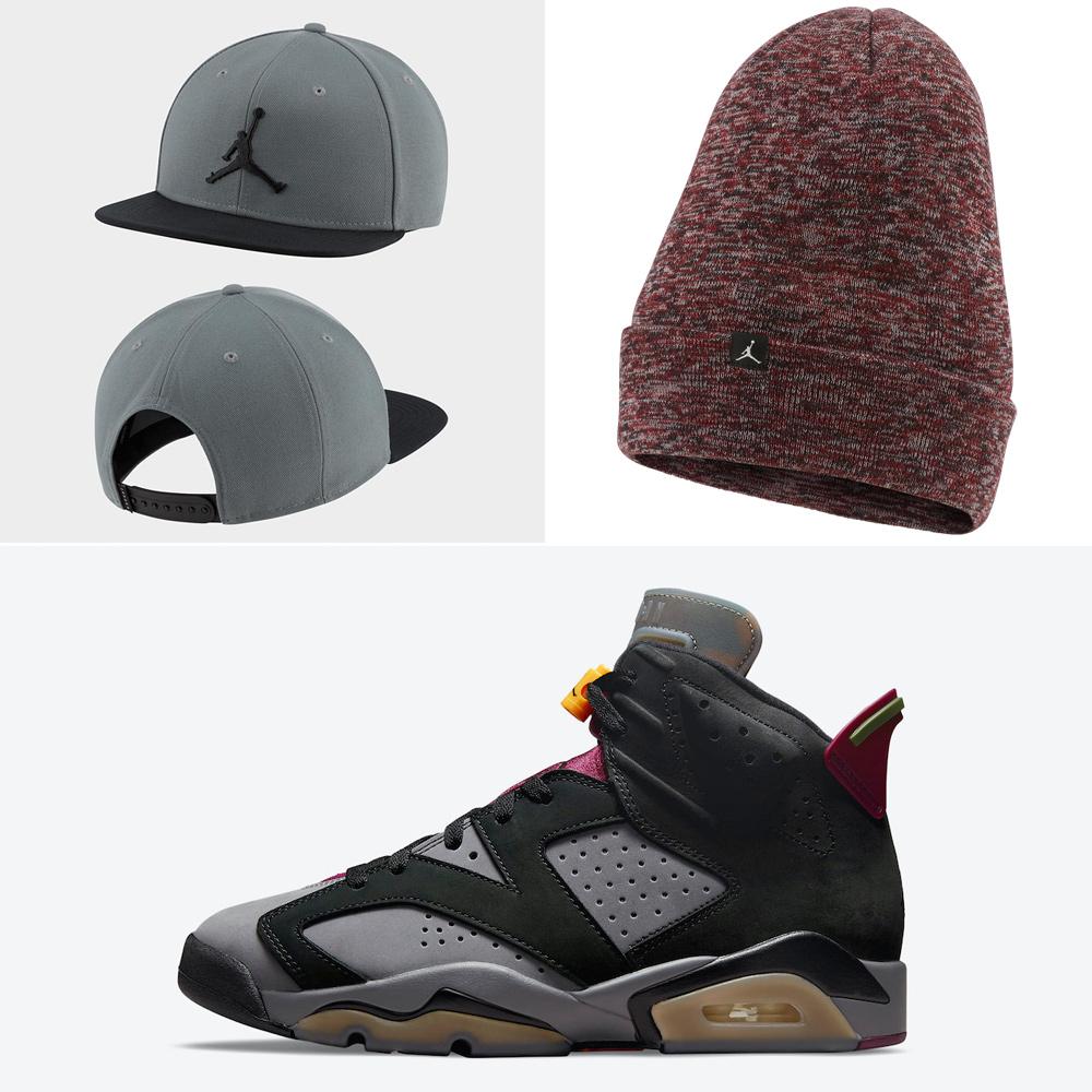 jordan-6-bordeaux-hats