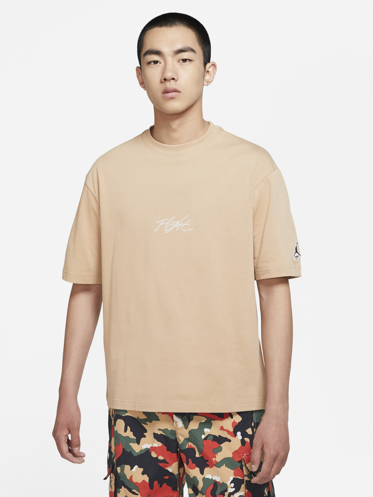 jordan-essential-flight-hemp-tan-shirt