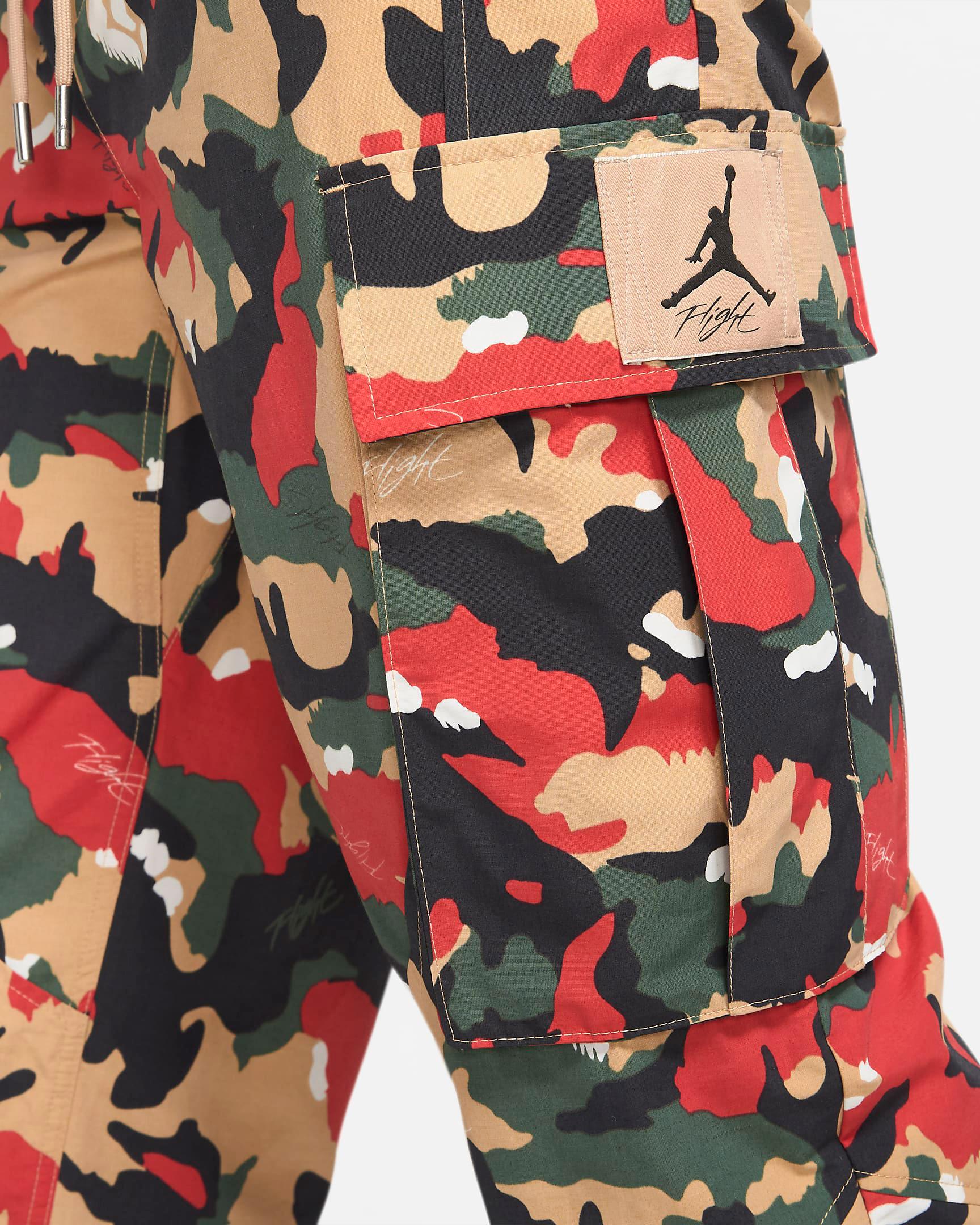 jordan-flight-heritage-cargo-pants-hemp-tan-red-green-4