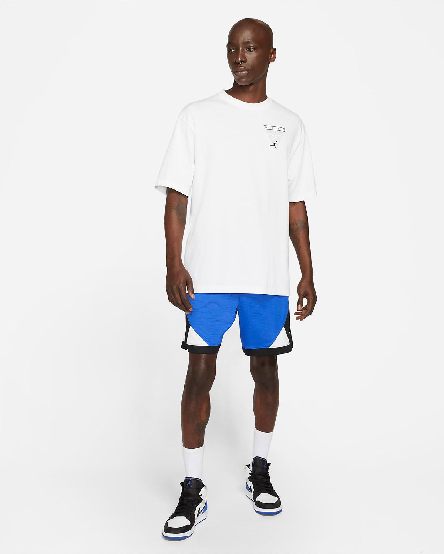 jordan-hyper-royal-shorts-t-shirt-outfit