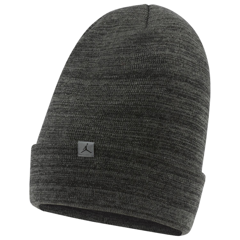 jordan-knit-cuffed-beanie-black-grey
