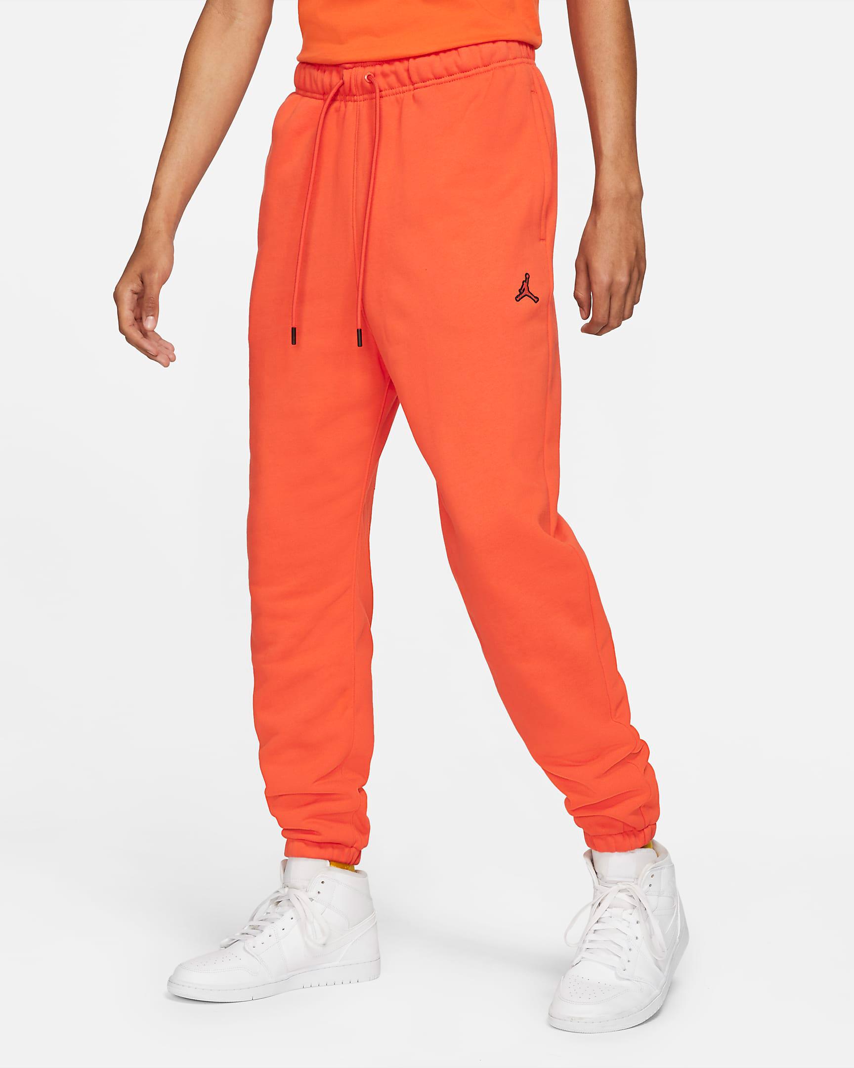 jordan-orange-essentials-fleece-pants-1