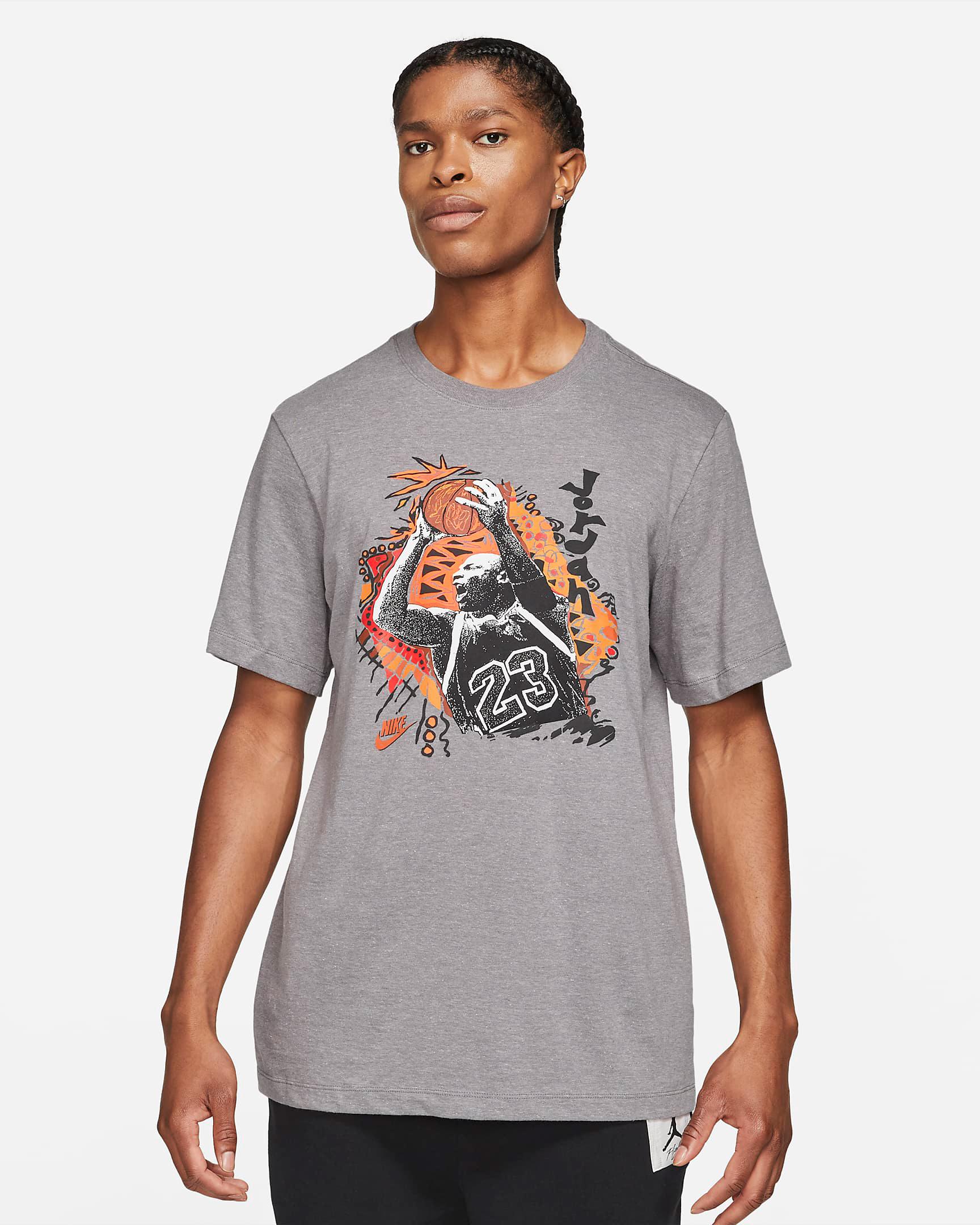 jordan-orange-grey-vintage-t-shirt