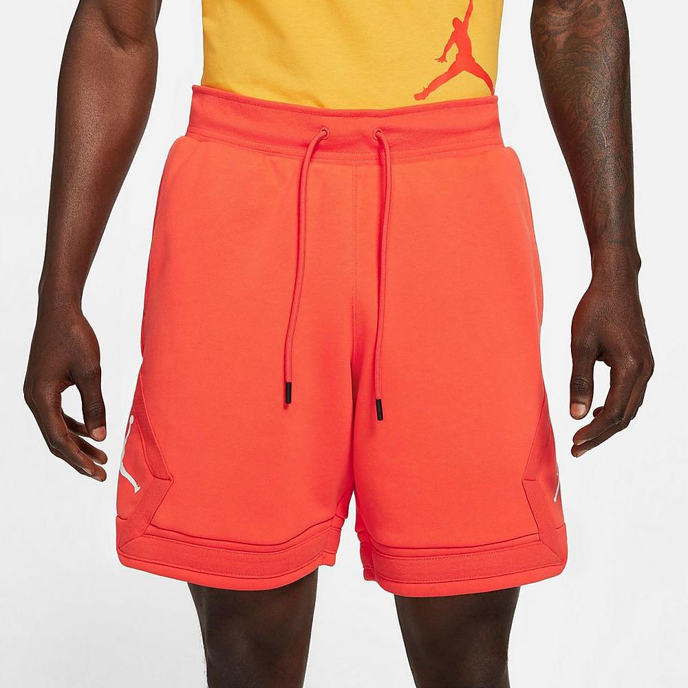 jordan-orange-jumpman-diamond-shorts-1