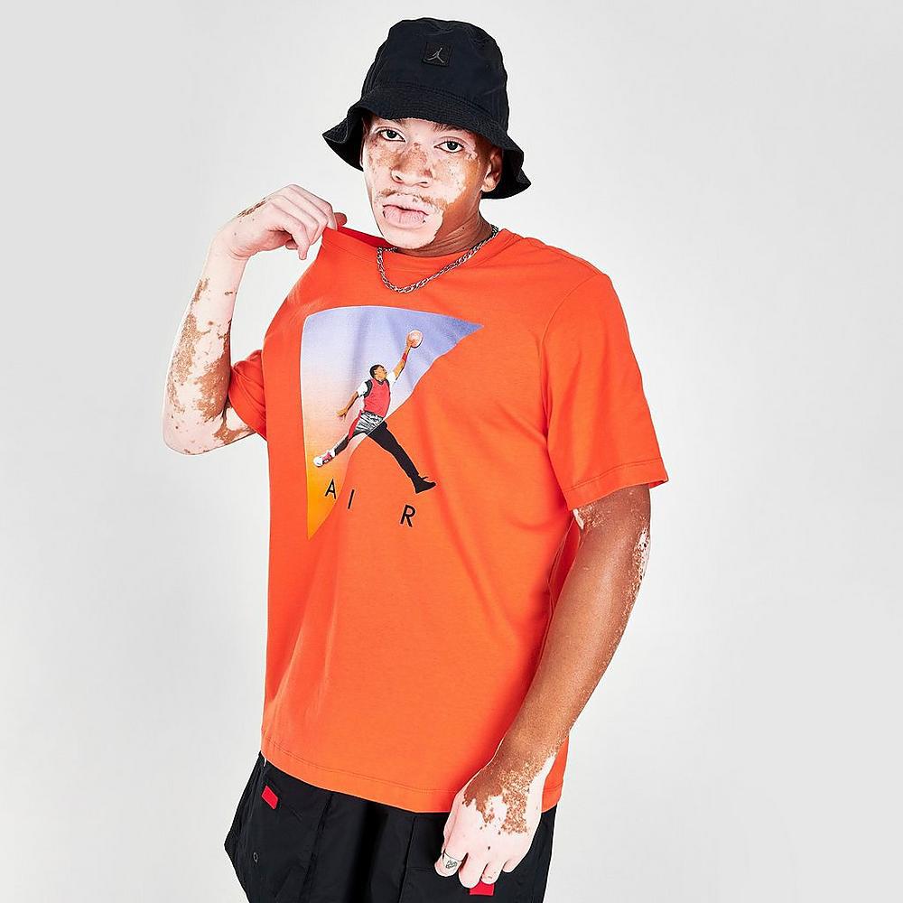 jordan-orange-jumpman-photo-shirt