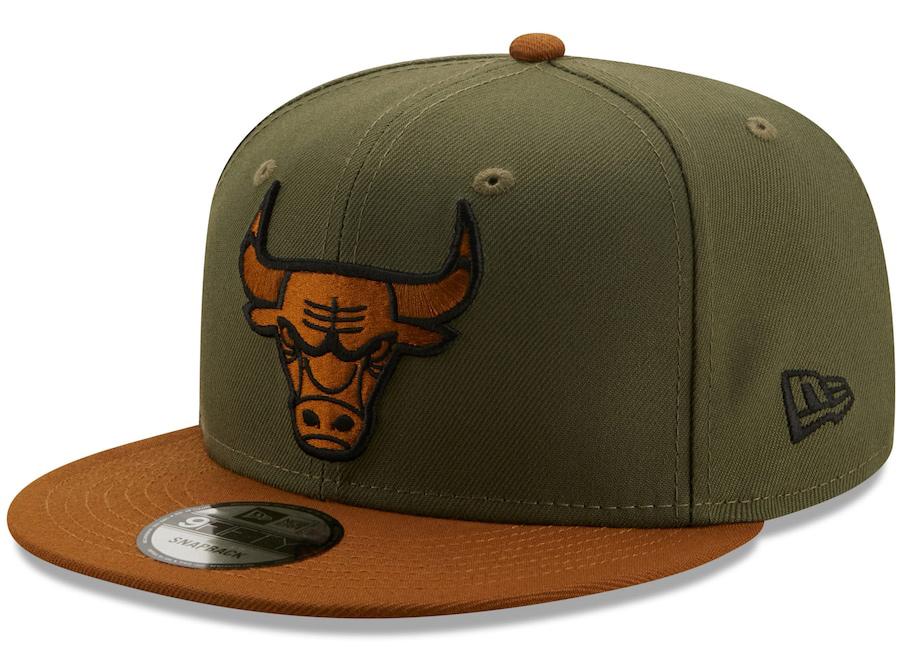 new-era-chicago-bulls-olive-brown-color-pack-snapback-hat-1