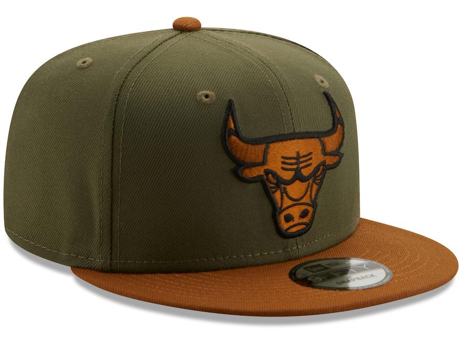 new-era-chicago-bulls-olive-brown-color-pack-snapback-hat-2