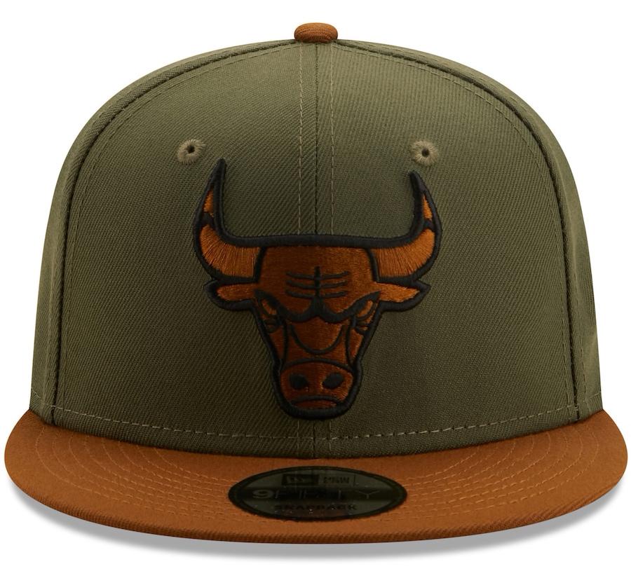 new-era-chicago-bulls-olive-brown-color-pack-snapback-hat-3