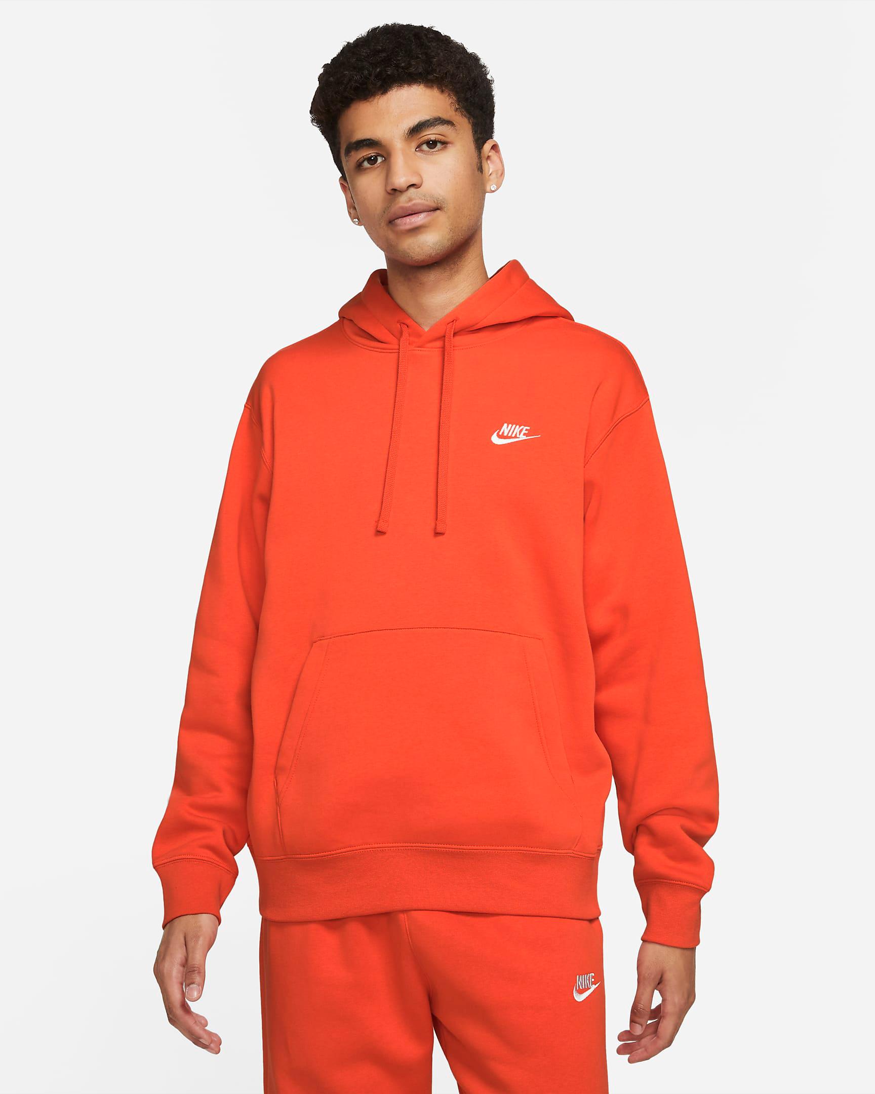 nike-club-fleece-orange-hoodie