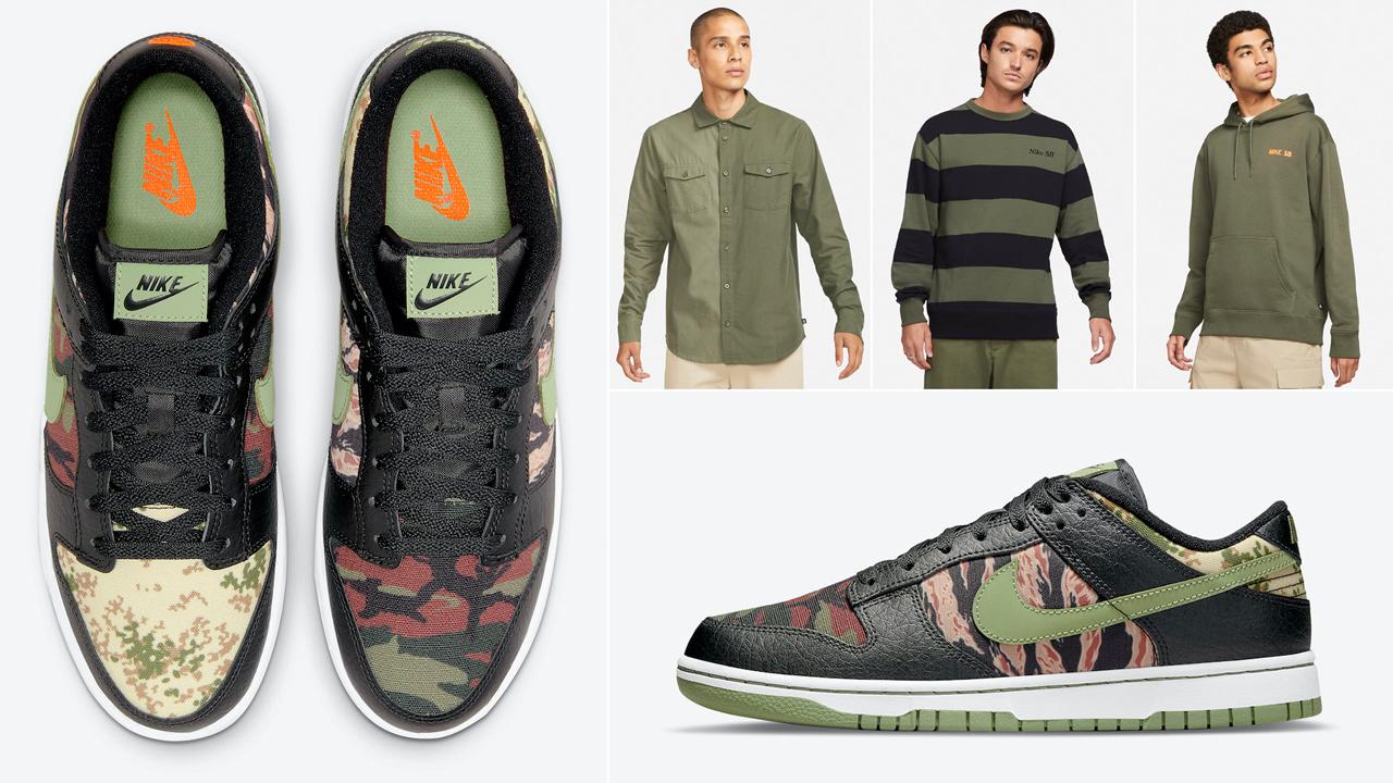 nike-dunk-low-black-multi-camo-shirts-clothing-outfits