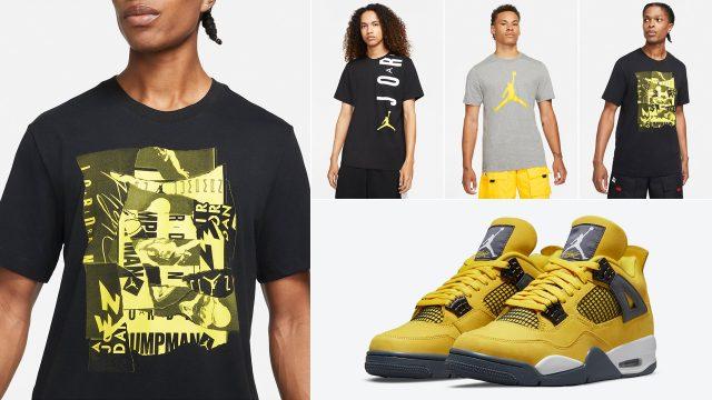 shirts-to-match-air-jordan-4-lightning-2021-sneakers