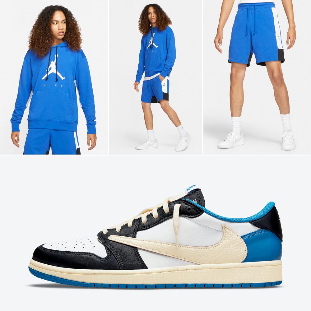 travis-scott-fragment-jordan-1-low-hoodie-shorts-outfit