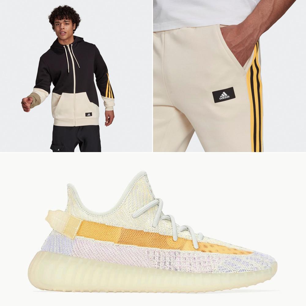 yeezy-350-v2-light-matching-clothing
