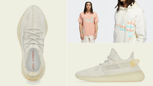 yeezy-boost-350-v2-light-shirt-clothing-outfit-match