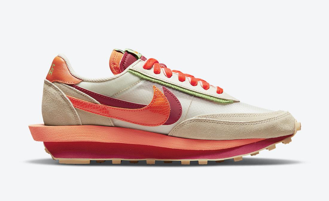 Clot-Sacai-Nike-LDWaffle-Orange-Blaze-DH1347-100-Release-Date-2
