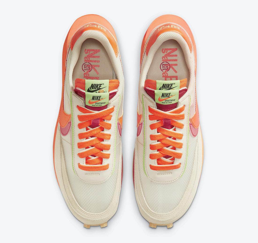Clot-Sacai-Nike-LDWaffle-Orange-Blaze-DH1347-100-Release-Date-3