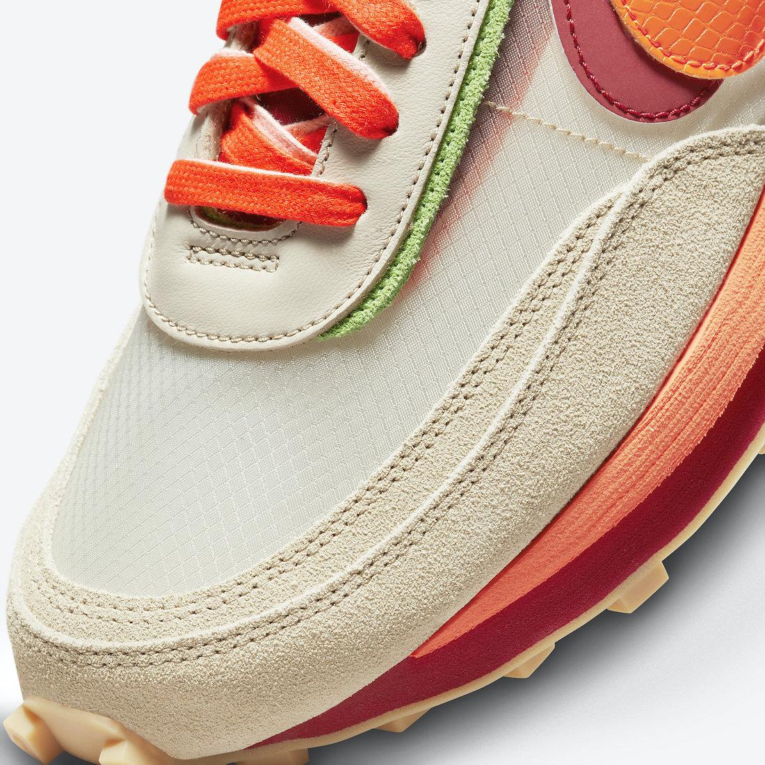 Clot-Sacai-Nike-LDWaffle-Orange-Blaze-DH1347-100-Release-Date-6