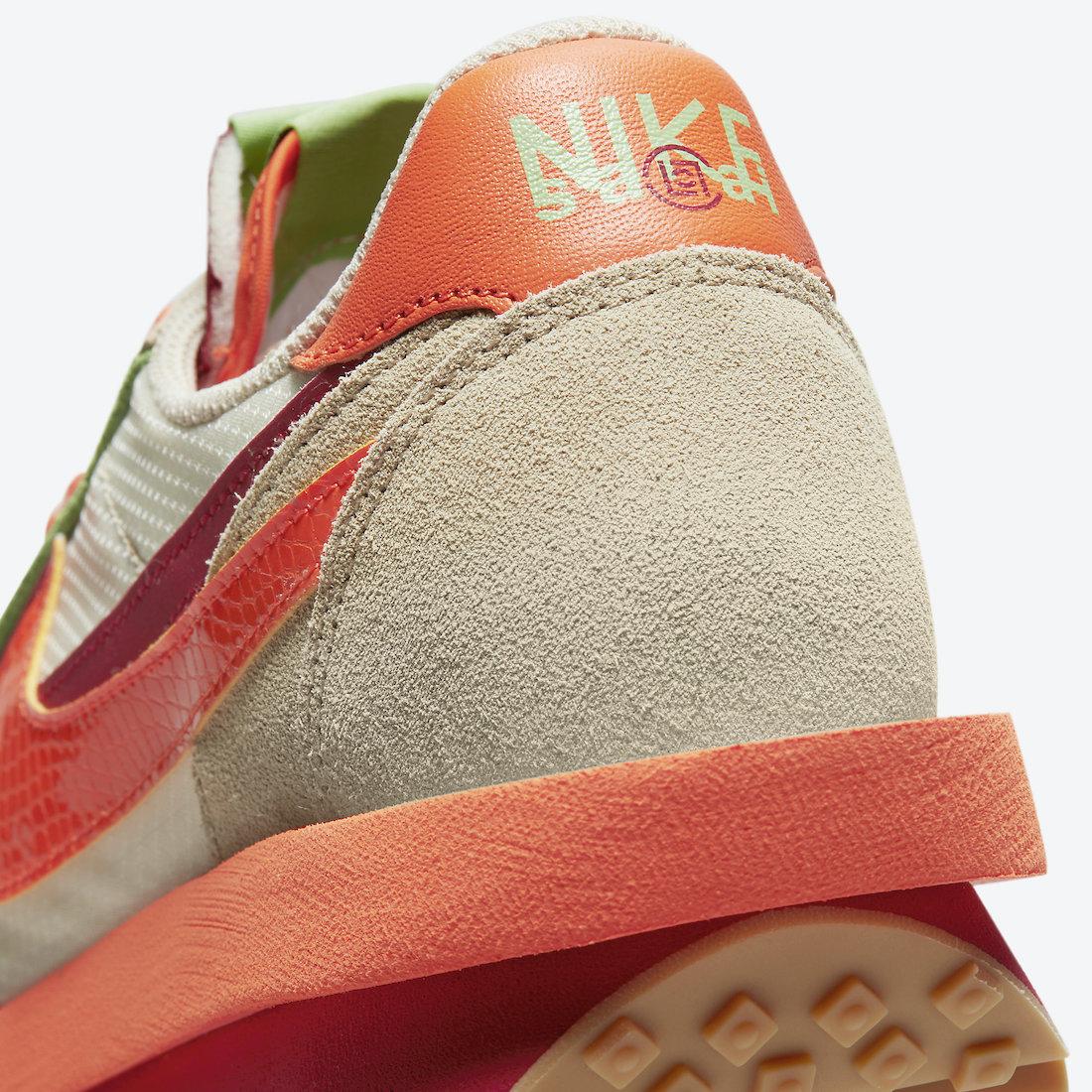 Clot-Sacai-Nike-LDWaffle-Orange-Blaze-DH1347-100-Release-Date-9