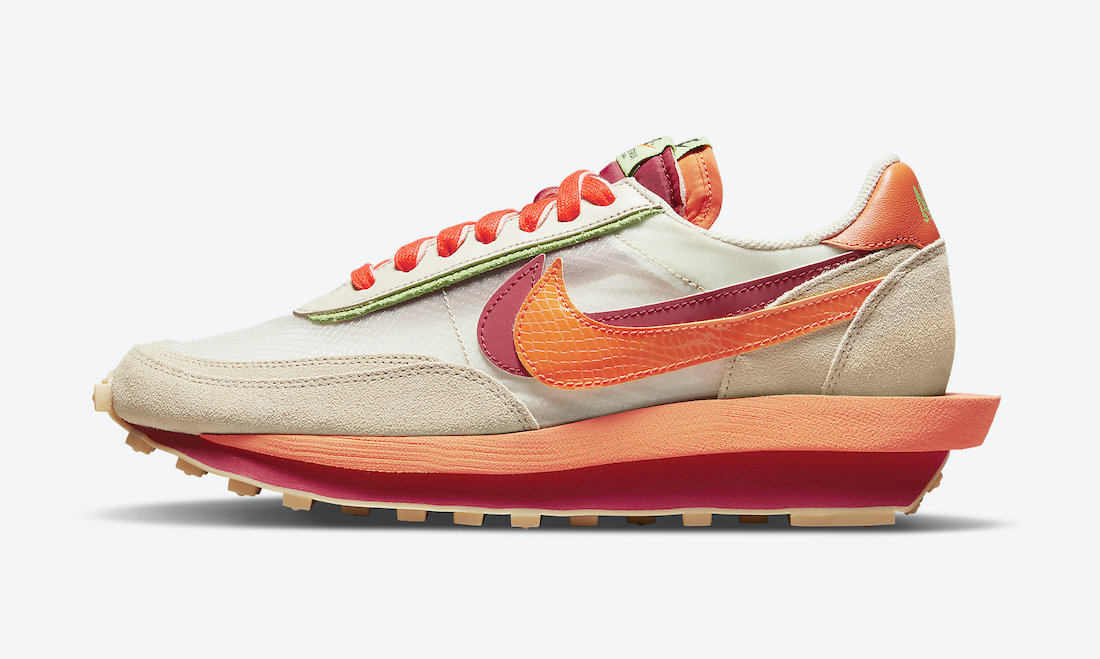 Clot-Sacai-Nike-LDWaffle-Orange-Blaze-DH1347-100-Release-Date