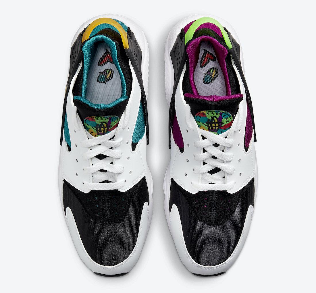 Nike-Air-Huarache-Peace-Love-Swoosh-DM8152-100-Release-Date-3