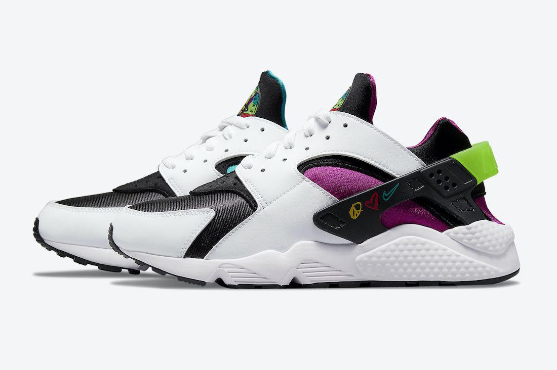 Nike-Air-Huarache-Peace-Love-Swoosh-DM8152-100-Release-Date