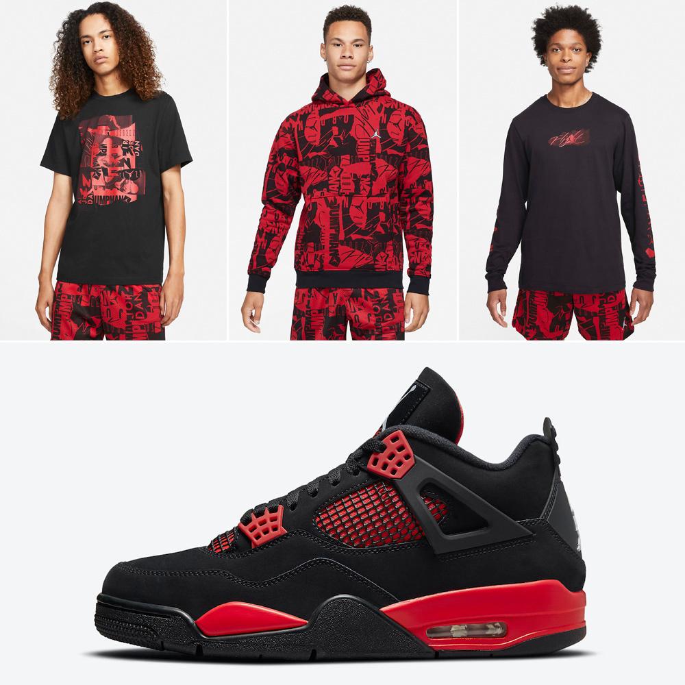 air-jordan-4-red-thunder-clothing